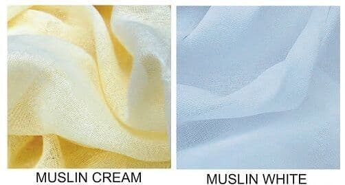 1 Metre 100% COTTON MUSLIN CURTAIN/FABRIC & Craft Material 150cm (60